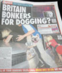 sunday sport dogging news